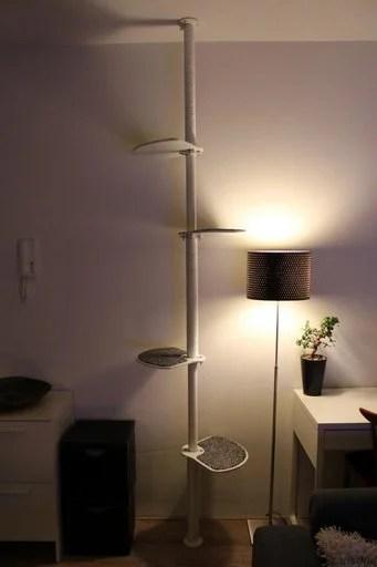 Cat Hack Cat Tower Amp Scratching Post IKEA Hackers