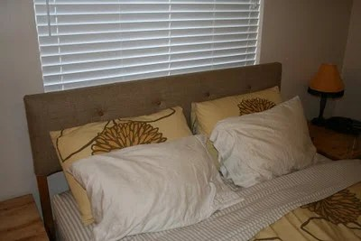 Perfect Eco chic headboard