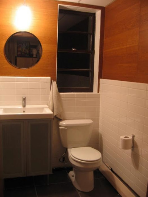 Simple Low End to High End Half Bath via As Is