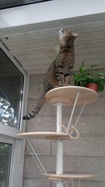 A Stolmen Snudda Cat Tree Ikea Hackers