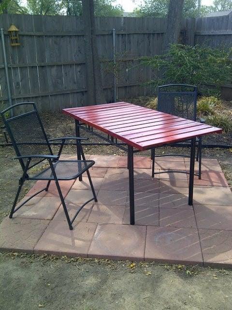 non gormless picnic table ikea hackers. Black Bedroom Furniture Sets. Home Design Ideas