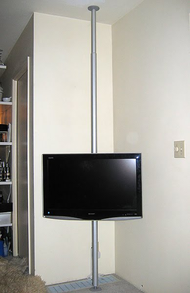 Hang Your Tv On A Pole Ikea Hackers