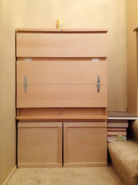 Malm cat cabinet