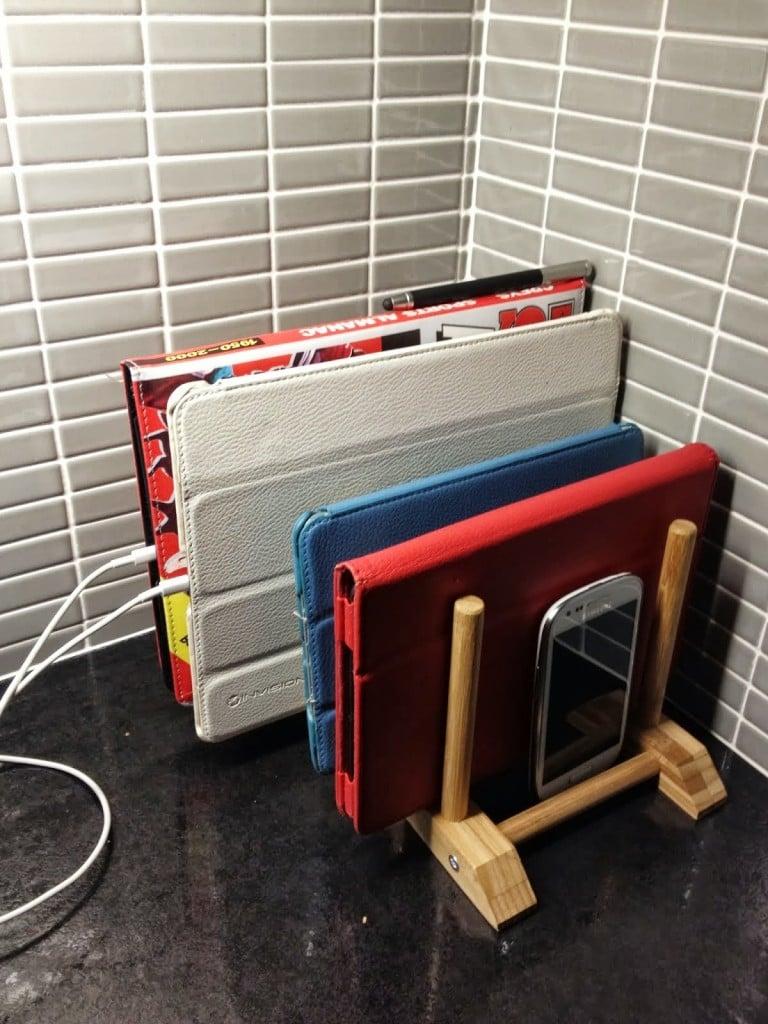 Ransby Ipad Charging Rack Ikea Hackers