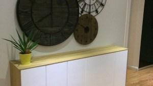 FAKTUM Wall Cabinets To Buffet/sideboard IKEA Hackers