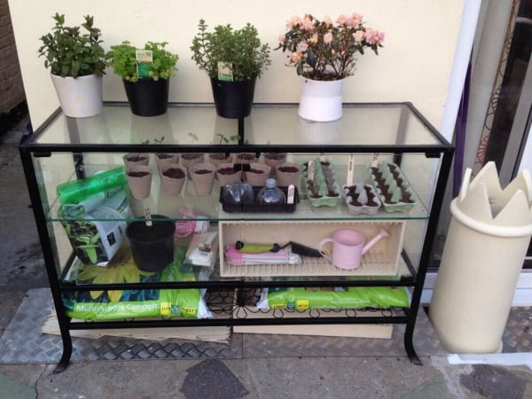 Kingsbo Display Unit Turned Into A Greenhouse Ikea Hackers