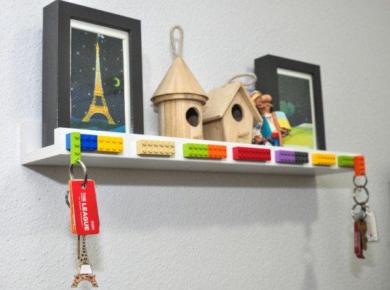Ikea Photo Ledge + Lego-1-15