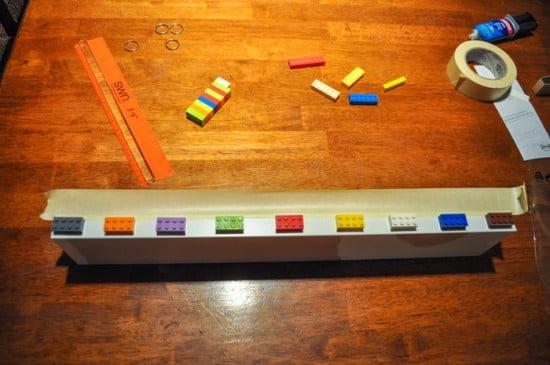 Ikea Photo Ledge + Lego-1-4