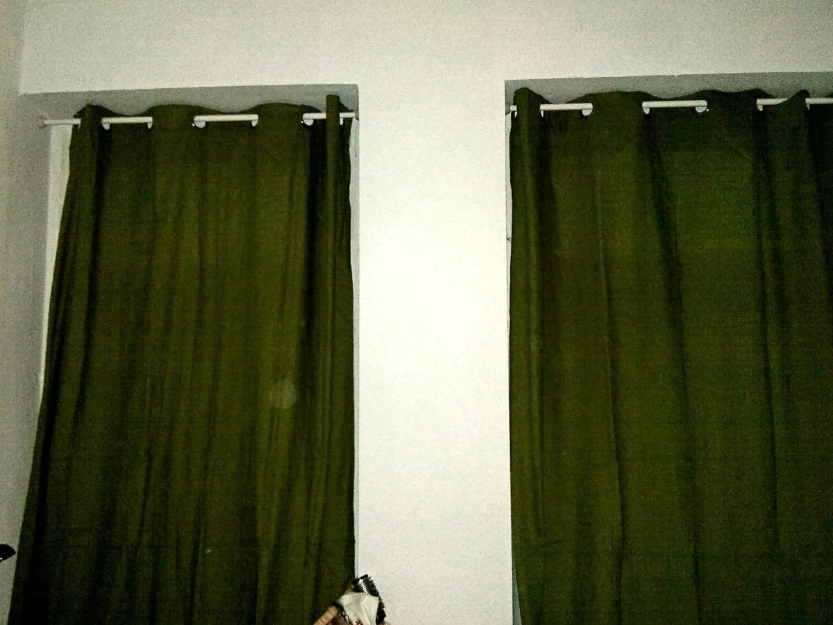 drill less curtain rod blankets throws ideas inspiration