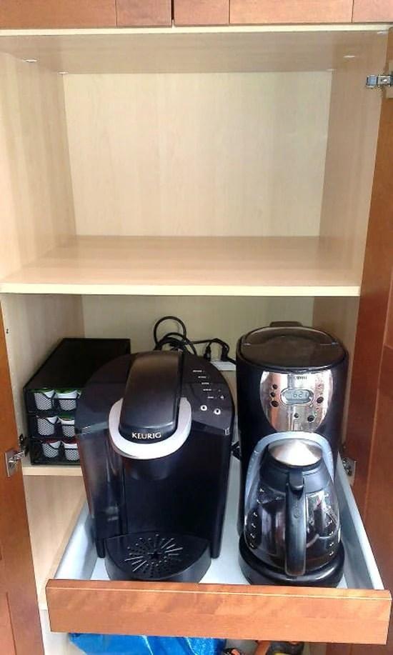 Coffee Hideaway Ikea Hackers