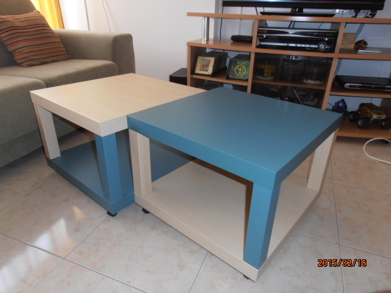 Quad Lack Coffee Table Ikea Hackers
