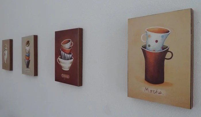postcard wall art