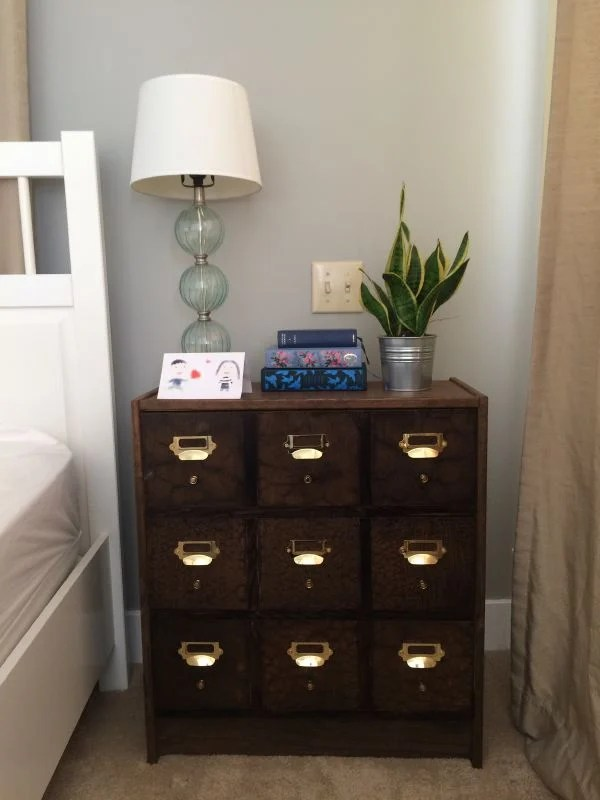 Diy Card Catalog Apothecary From Rast For 75