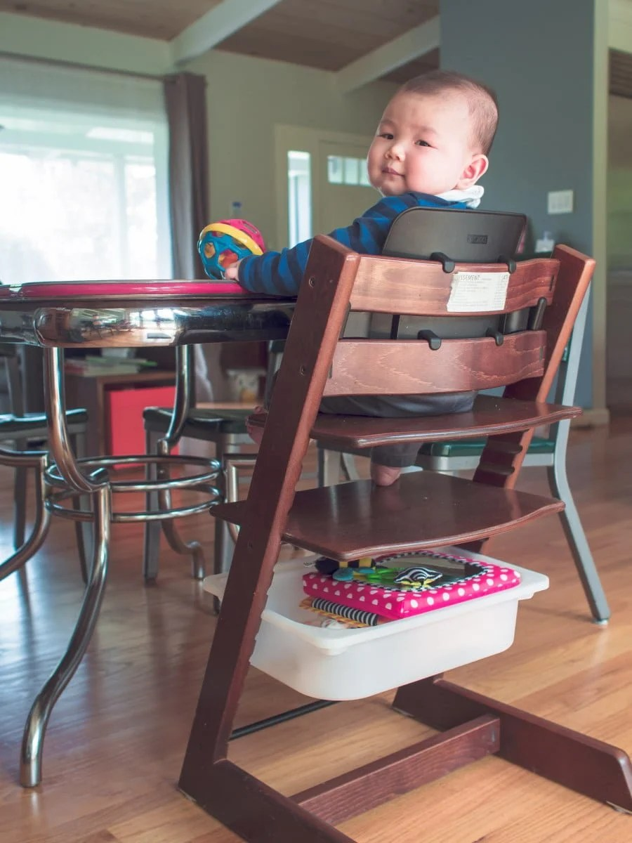 Stokke Tripp Trapp High Chair With A Cheap Trofast Storage