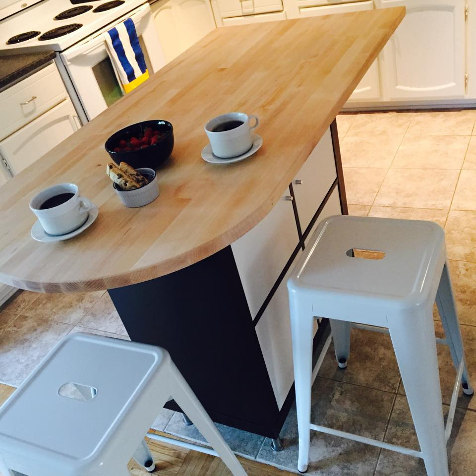 Another Expedit Or Kallax Kitchen Island Ikea Hackers