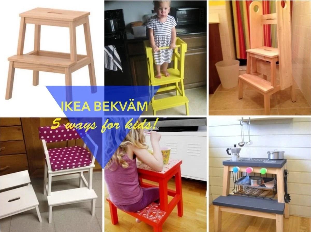 5 Fun Ways To Use The Ikea Step Stool For Kids Ikea Hackers