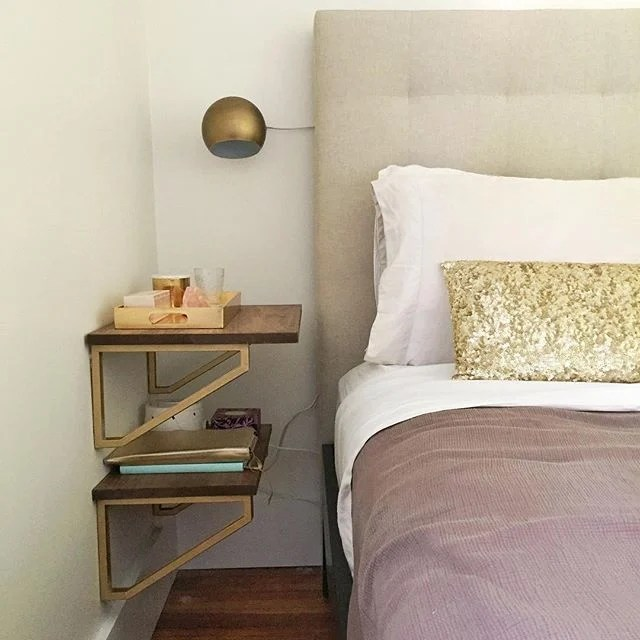 IKEA shelf nightstand
