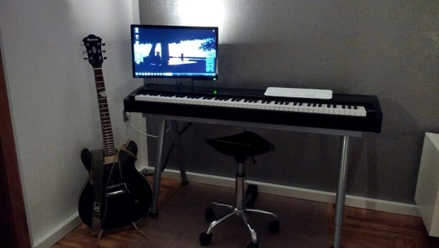 IKEA GALANT Piano Keyboard Stand IKEA Hackers IKEA Hackers
