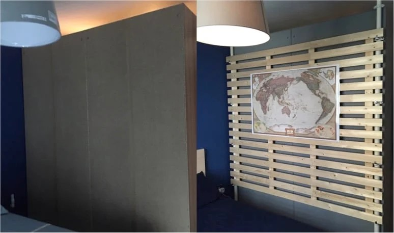 Multi Purpose Wooden Partition From Stolmen And Lade