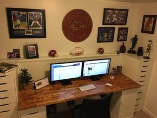 Clean Amp Fresh Office Desk Update Ikea Hackers