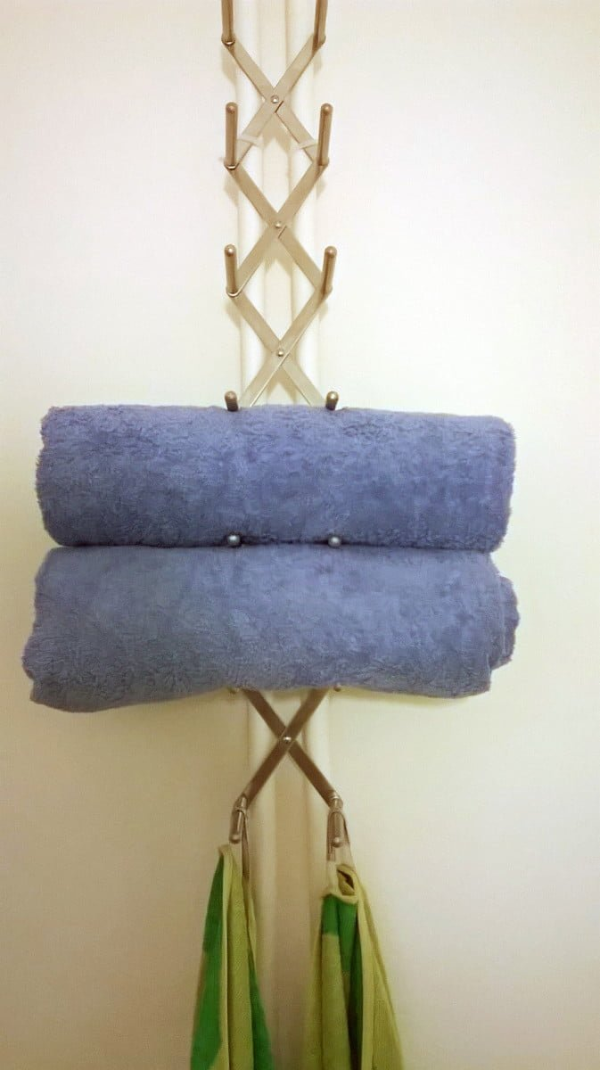 wine holder towel rack