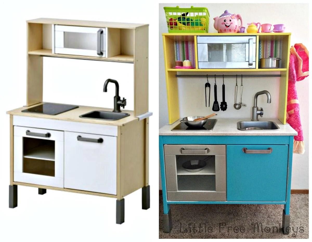 ikea duktig play kitchen makeover ikea hackers. Black Bedroom Furniture Sets. Home Design Ideas