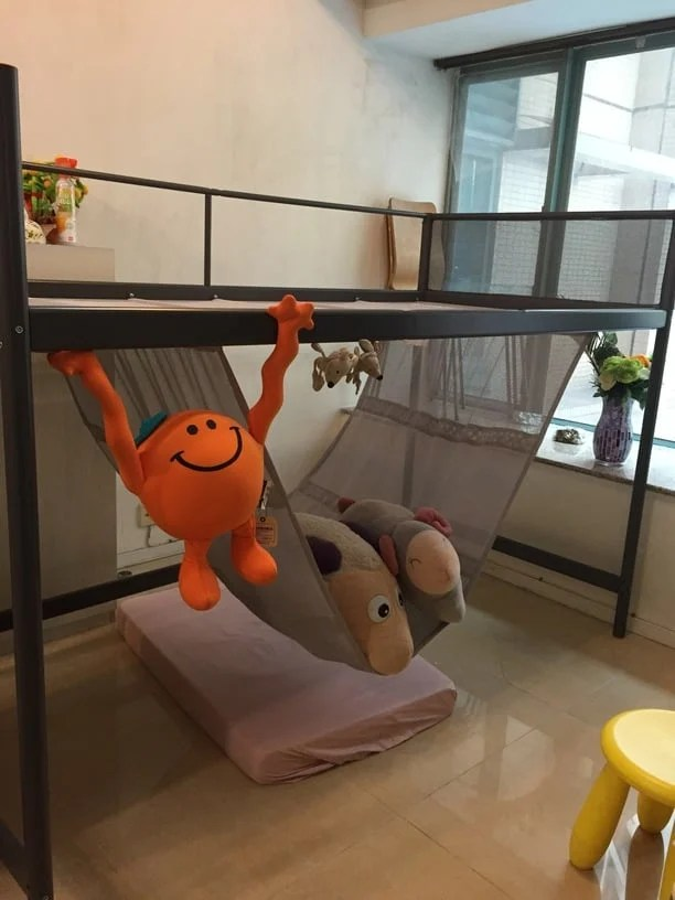 Amazing Metre high Loft Bed with Hammock from Tuffing Bunk Bed