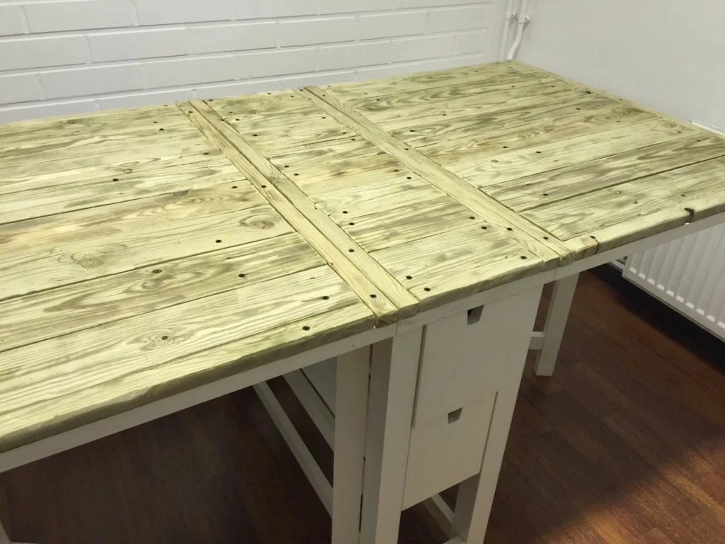 Ikea Norden Folding Table In Riviera Maison Style Ikea Hackers