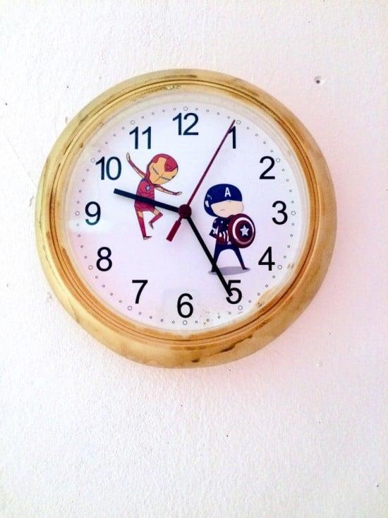 Civil War RUSCH clock