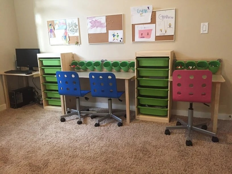 TROFAST Kid Desk and Workstation - IKEA Hackers