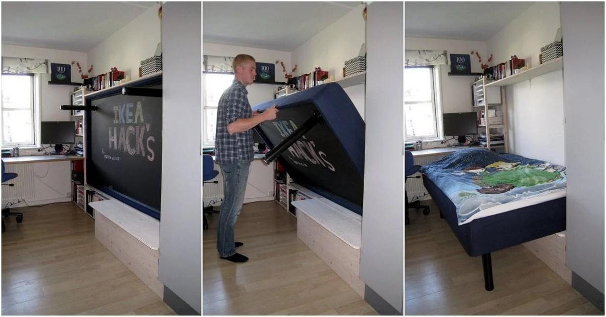 New Hack an IVAR Murphy bed
