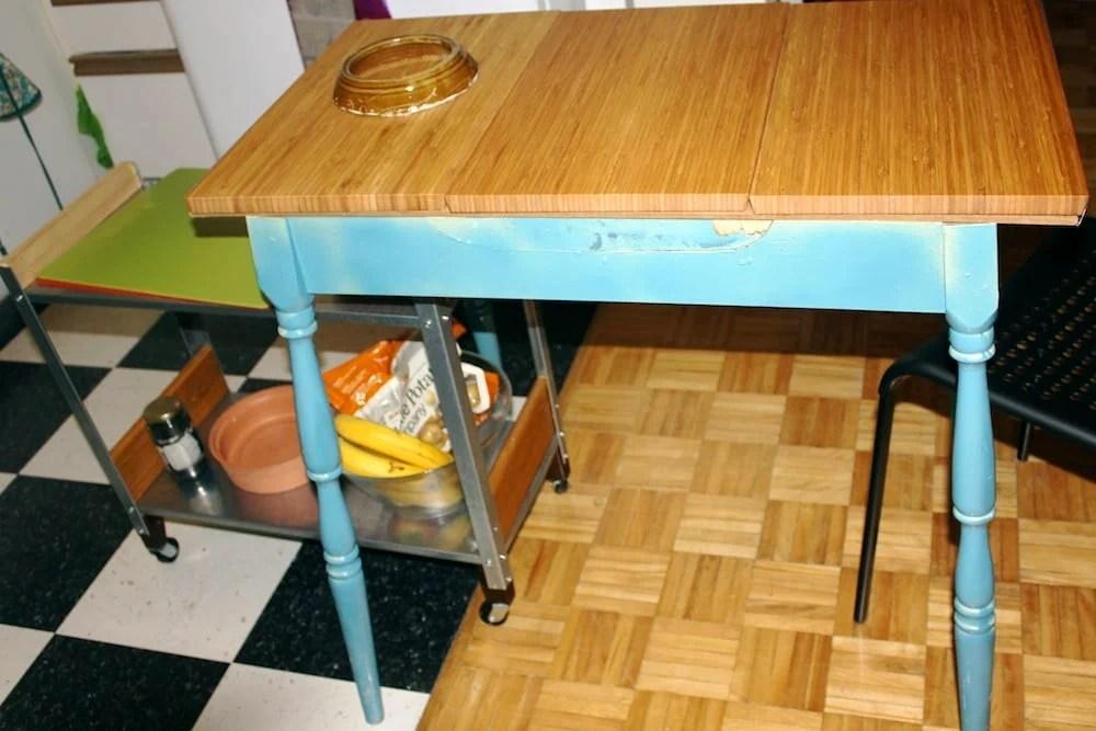 Aptitlig Kitchen Table Ikea Hackers