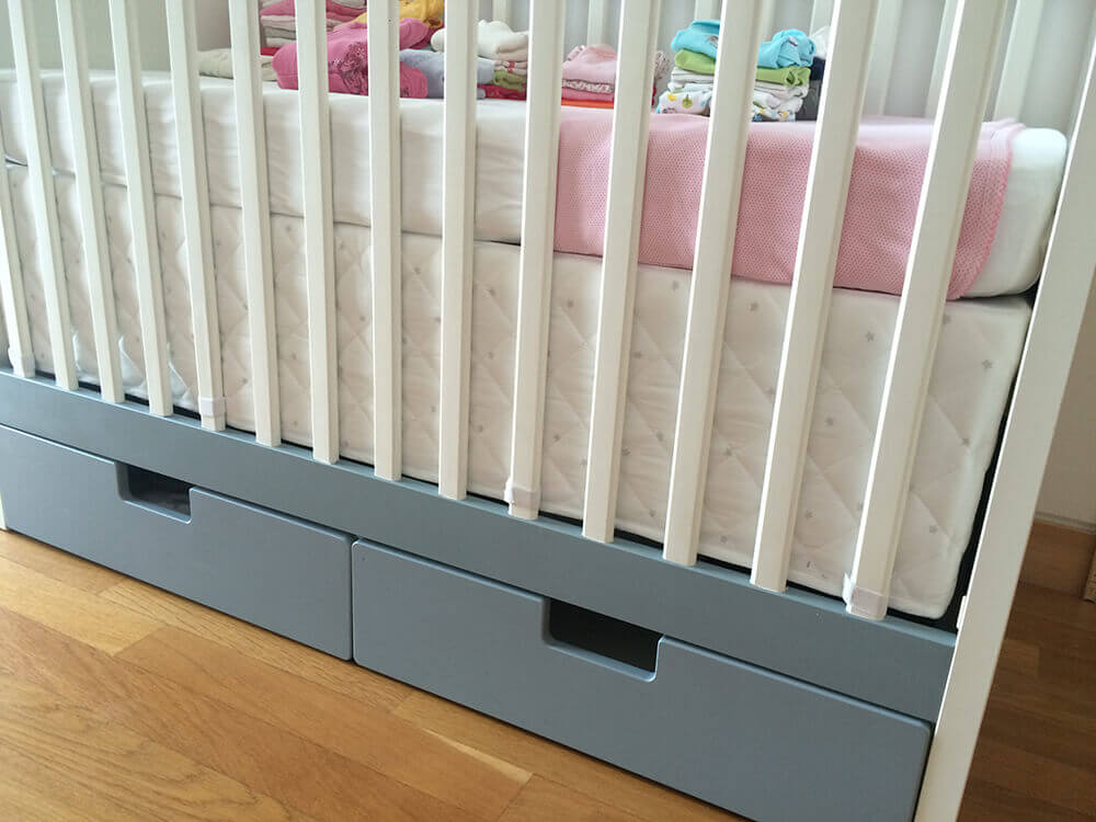 HIMMELSK bumper pad bumper pad to crib skirt