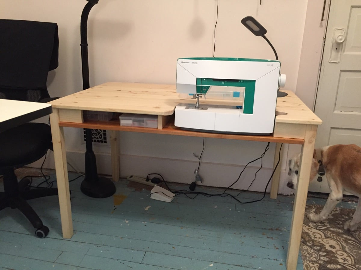 Ikea Ingo To Sewing Table With Storage Ikea Hackers