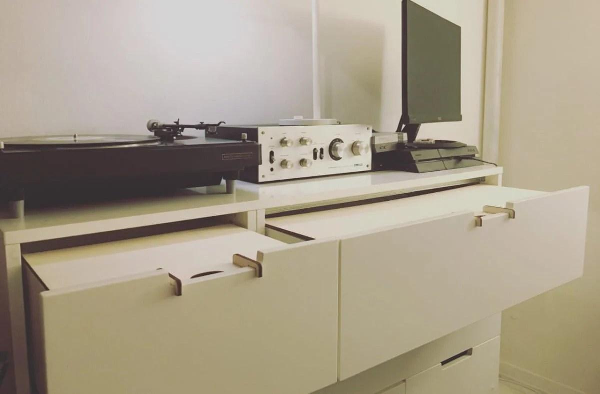 NORDLI Hack Drawers Hiding Useful Tables IKEA Hackers