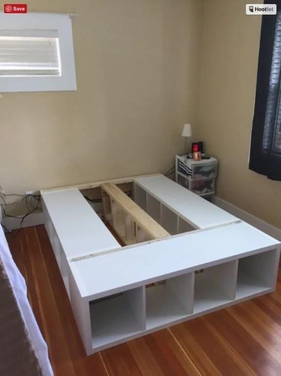 Front shelf installed