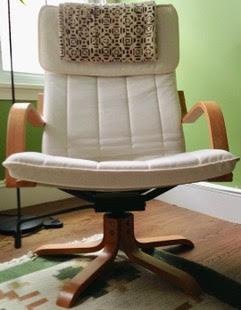 Swivel POÄNG chair