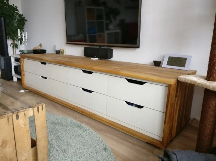 Long TV Stand From IKEA Stolmen IKEA Hackers
