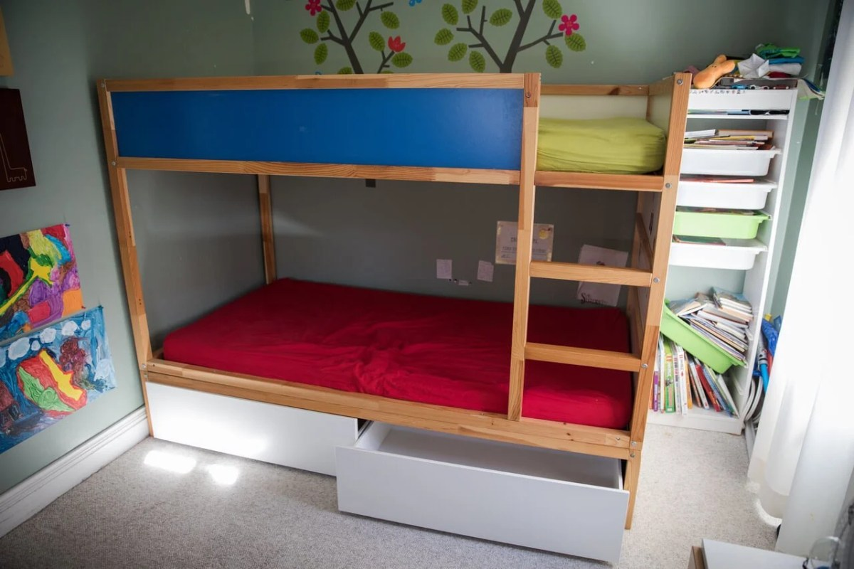Hacking the KURA into a bunk bed with storage