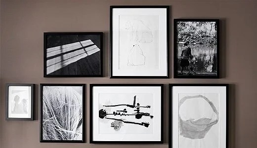Hanging Picture Frames Accurately On The Wall Ikea Hackers