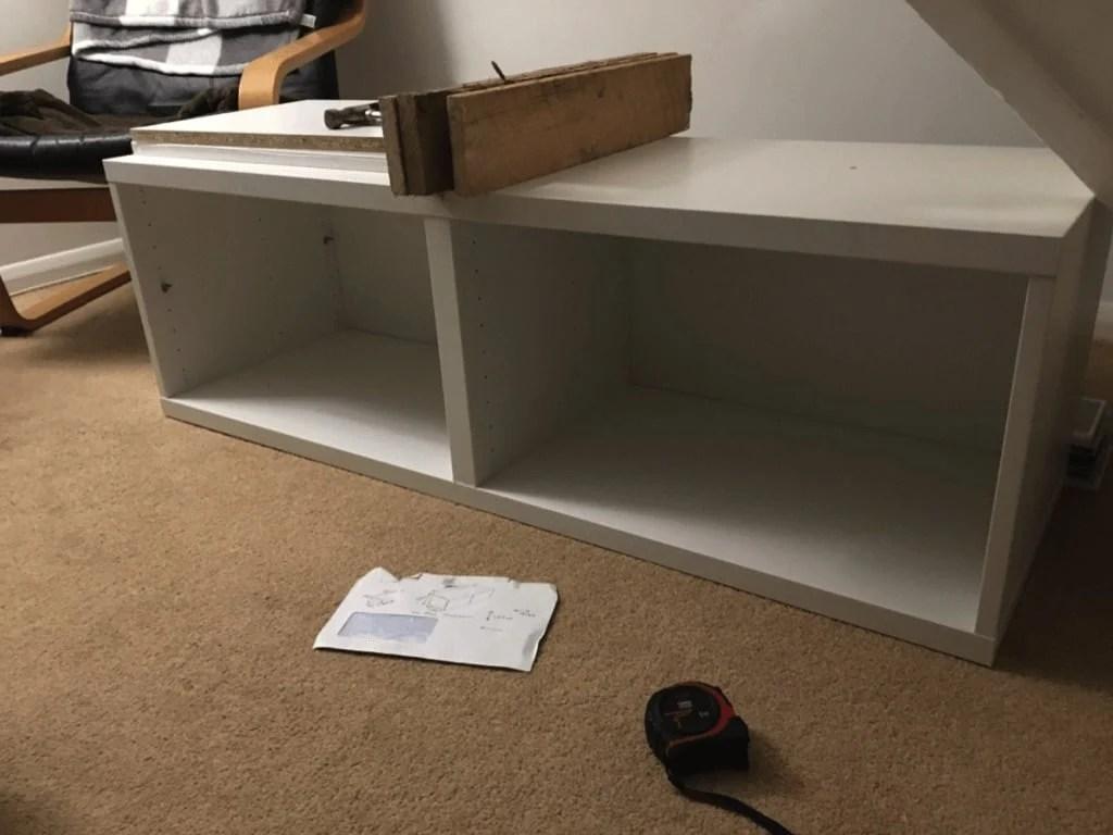BESTÅ cabinets