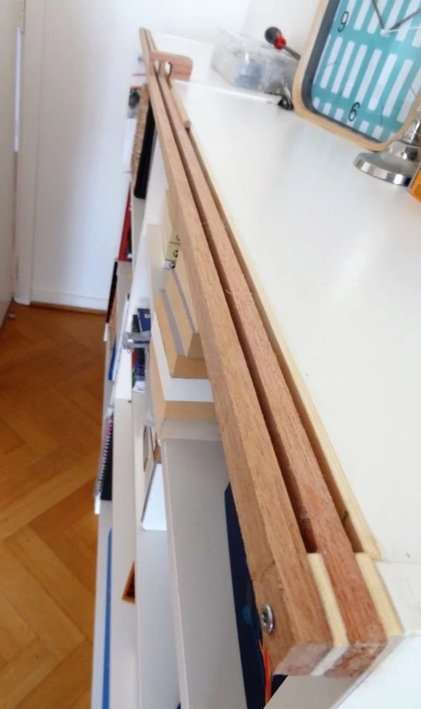 Fabric Sliding Doors Gets Dust Away From Billy Ikea Hackers