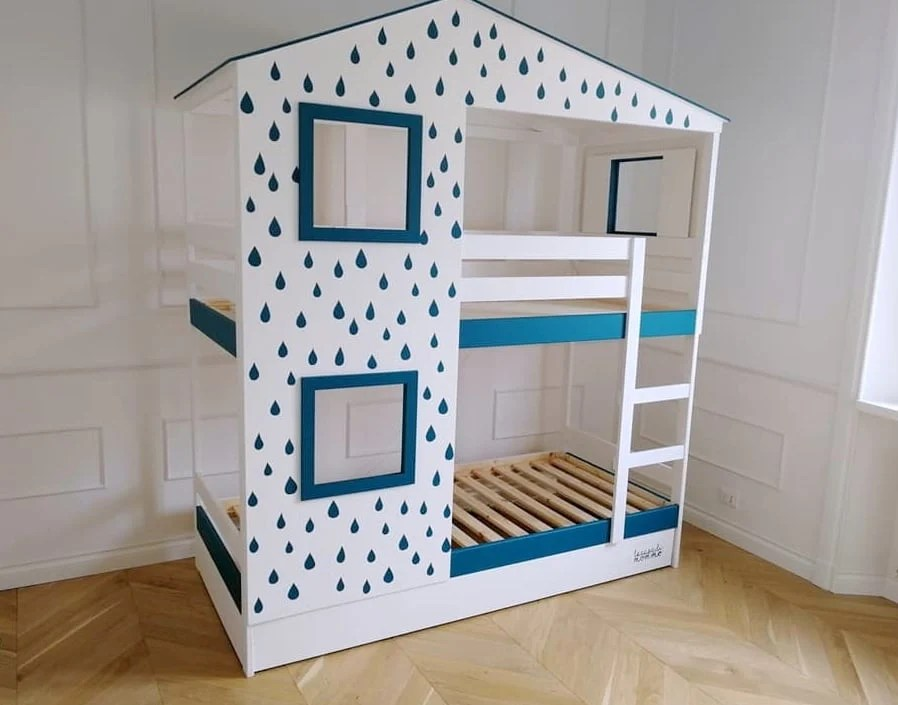 Playhouse Bed For Two Ikea Mydal Hack Ikea Hackers