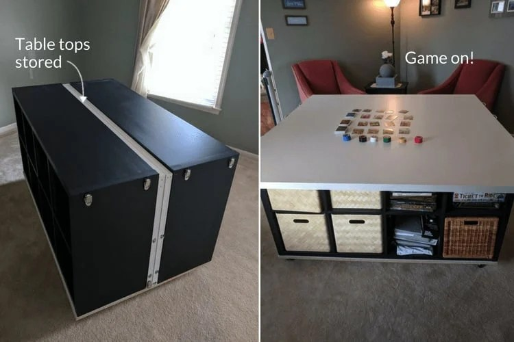 But Wifey Boss I Need A Gaming Table Ikea Hackers