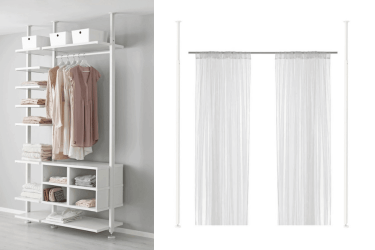Hackers Help How To Use Elvarli Posts For A Room Divider