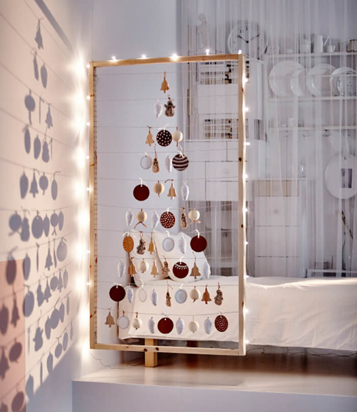 Christmas decoration ideas with an IKEA twist