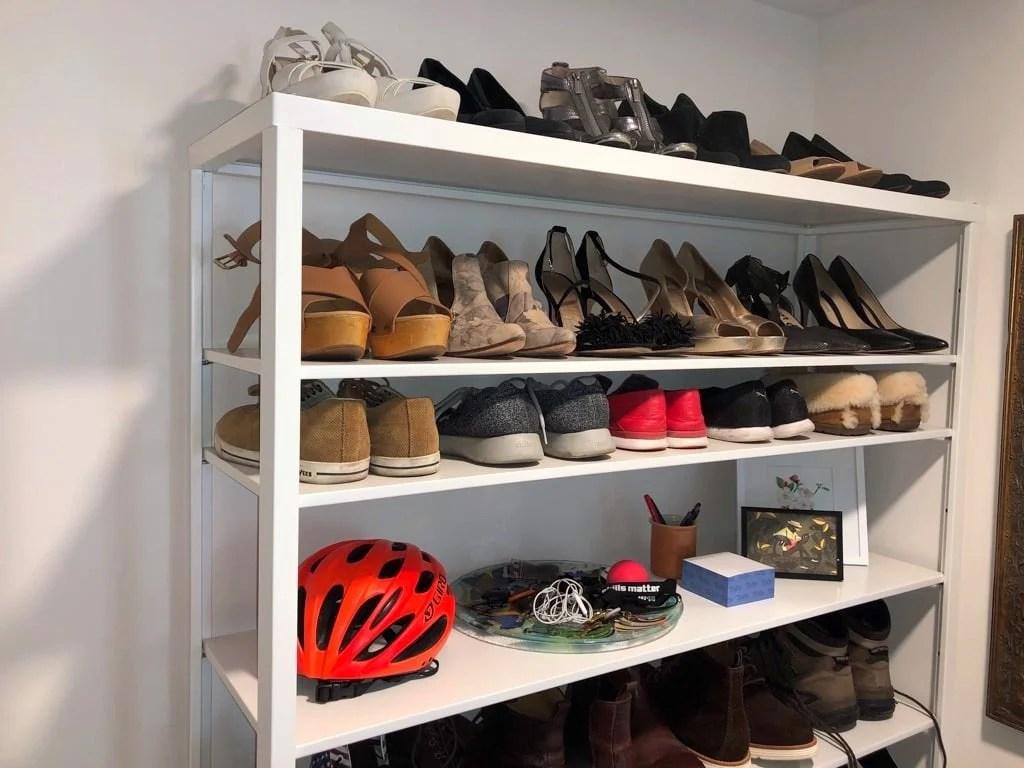 ikea shoe shelf for big feet and big