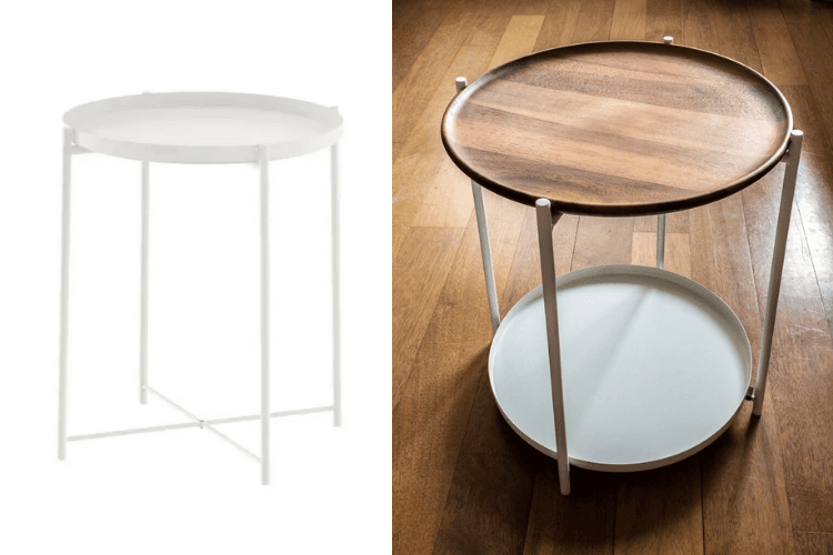 this popular ikea tray table is now