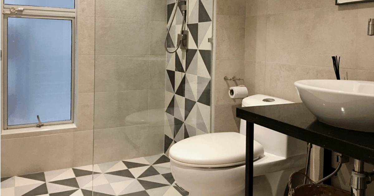 guest bathroom design small but