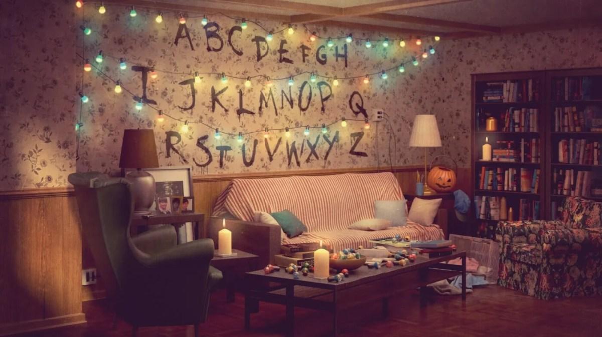 Stranger Things Living Room - IKEA UAE